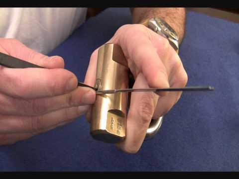 Взлом отмычками VIRO   VIRO™ Cilindrico 80mm. With secret pin. (spp
