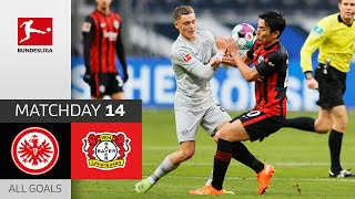 Amiri with an unreal goal, but B04 lose again | Eintracht Frankfurt - Leverkusen | 2-1 | All Goals