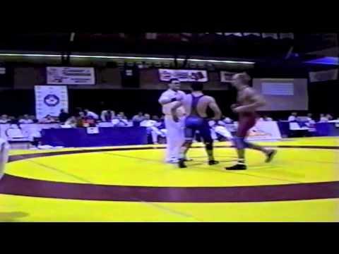 2000 Senior National Championships: 76 kg Sean Pierson vs. Zoltan Hunyady