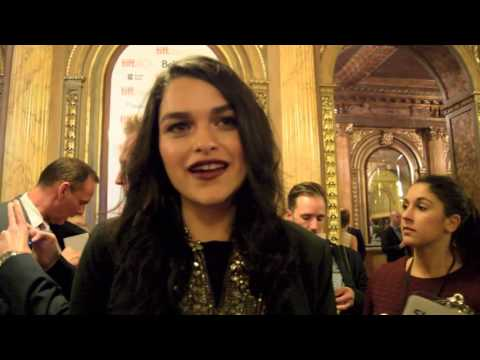 Heroes Reborn TIFF Red Carpet  Eve Harlow