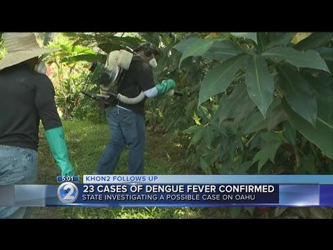 Vector control teams spray for mosquitoes on Hawaii Island