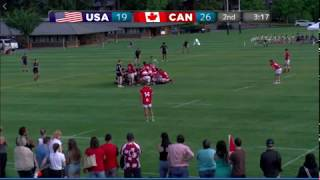 Liam's 1st Full International Try