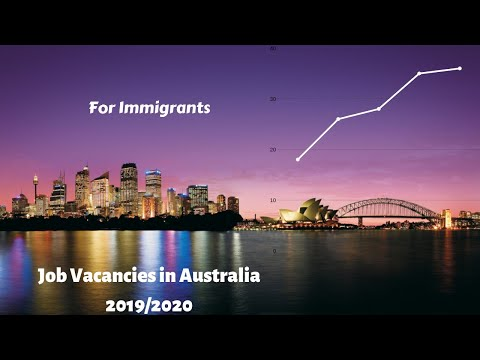Australian Job Vacancy : Incredible Jobs In Australia For Foreigners 👍