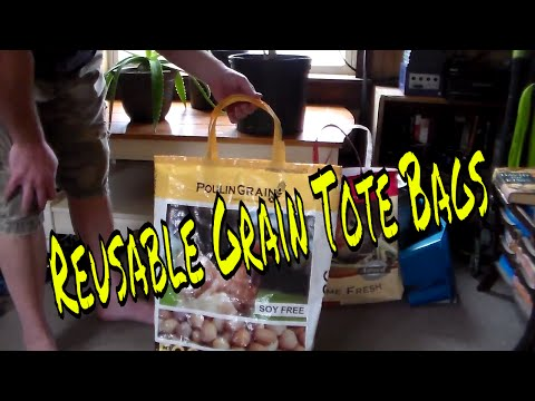 How To Make Reusable Grain Tote Bags