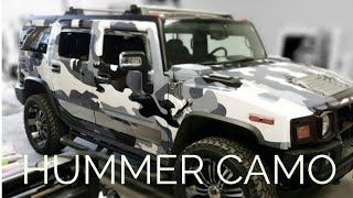 HUMMER H2 CAMO WRAP REVIEW