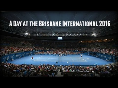 Day at the Brisbane International Tennis - 2016