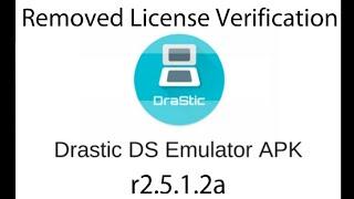 drastic ds emulator apk no license verification