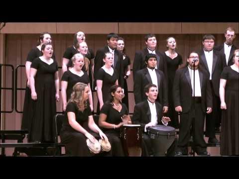 Peze Kafe'  - New Mexico State Choir 2013