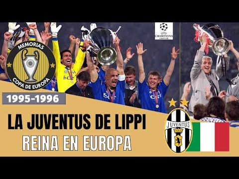CHAMPIONS LEAGUE (1996) JUVENTUS 🇮🇹 Historia de la Champions