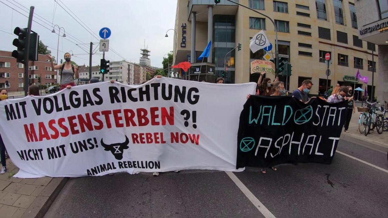 Extinction Rebellion Köln