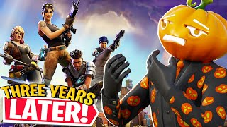 Fortnite SAVE THE WORLD 3 YEARS LATER...