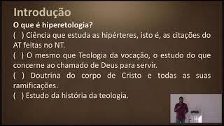 EBD | Chamada ao ministério da igreja | Lic. Ronner Batista