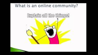 Online Communities 101 | Elliot Volkman