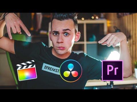 che programma usare per EDITARE VIDEO SU YOUTUBE?