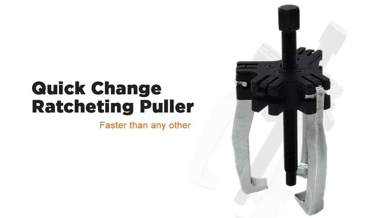 Quick Change Ratcheting Puller - Faster than any other