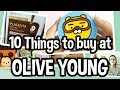 💄👄Top 10 Things You Must Buy in Korean Drugstore ft. Olive Young [올리브영]