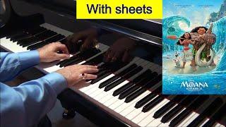 Moana How Far I'll Go Alessia Cara Piano Cover