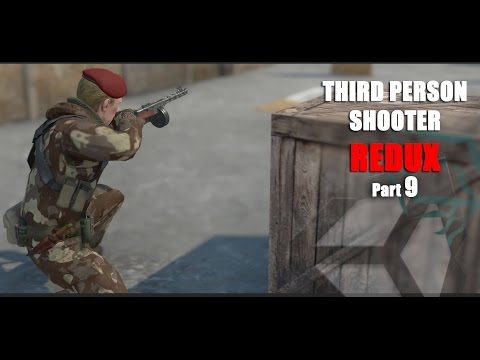 Unity 5 Tutorial Third Person Shooter Redux Part 9 Finishing Up the Cover System