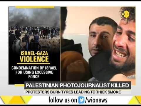 Israel-Gaza violence: Palestinian photo journalist killed