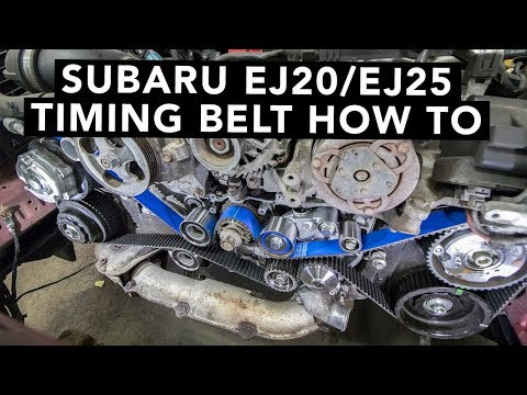 How To Change A Subaru DOHC EJ20 EJ25 Timing Belt