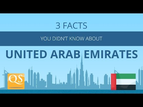 3 Facts You Didn't know About United Arab Emirates