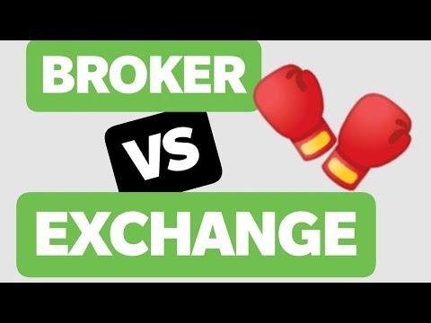 BROKER VS EXCHANGE - 🤷🏻♂️ ¿Cual elegir y por qué? [VENTAJAS y DESVENTAJAS]