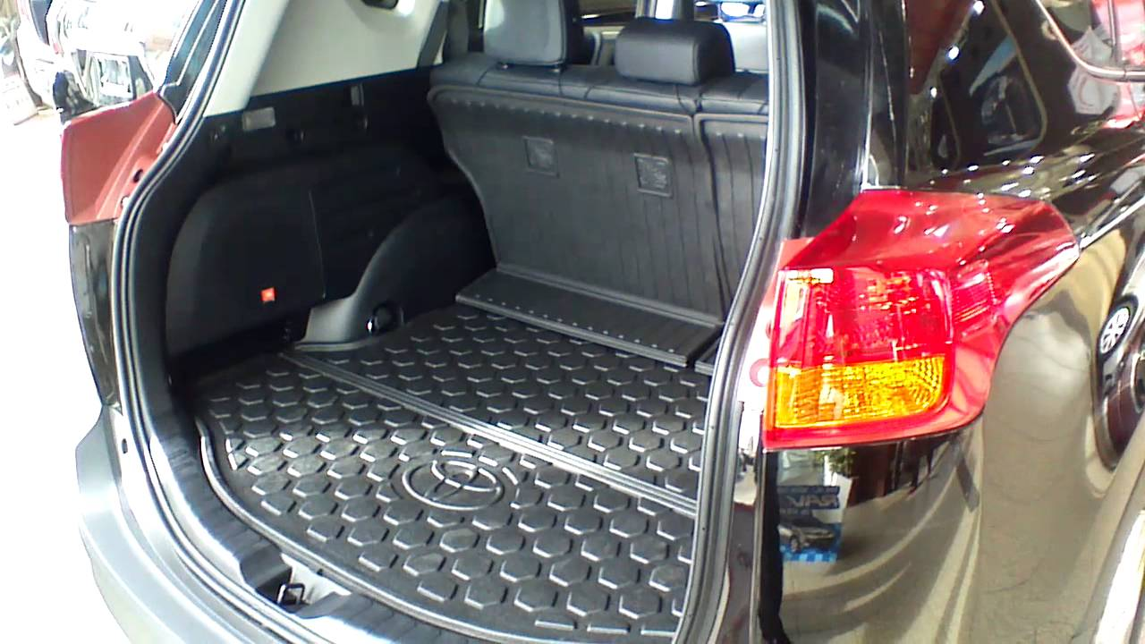 Toyota Rav4 Boot Size >> Cargo capacity in the 2013 Toyota RAV4 - YouTube