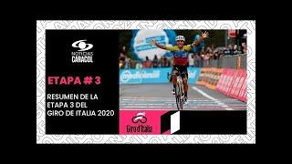 🚴 Giro de Italia 2020: Resumen y Clasificación Etapa 3