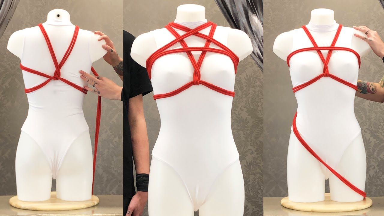 Rope Breast Harness