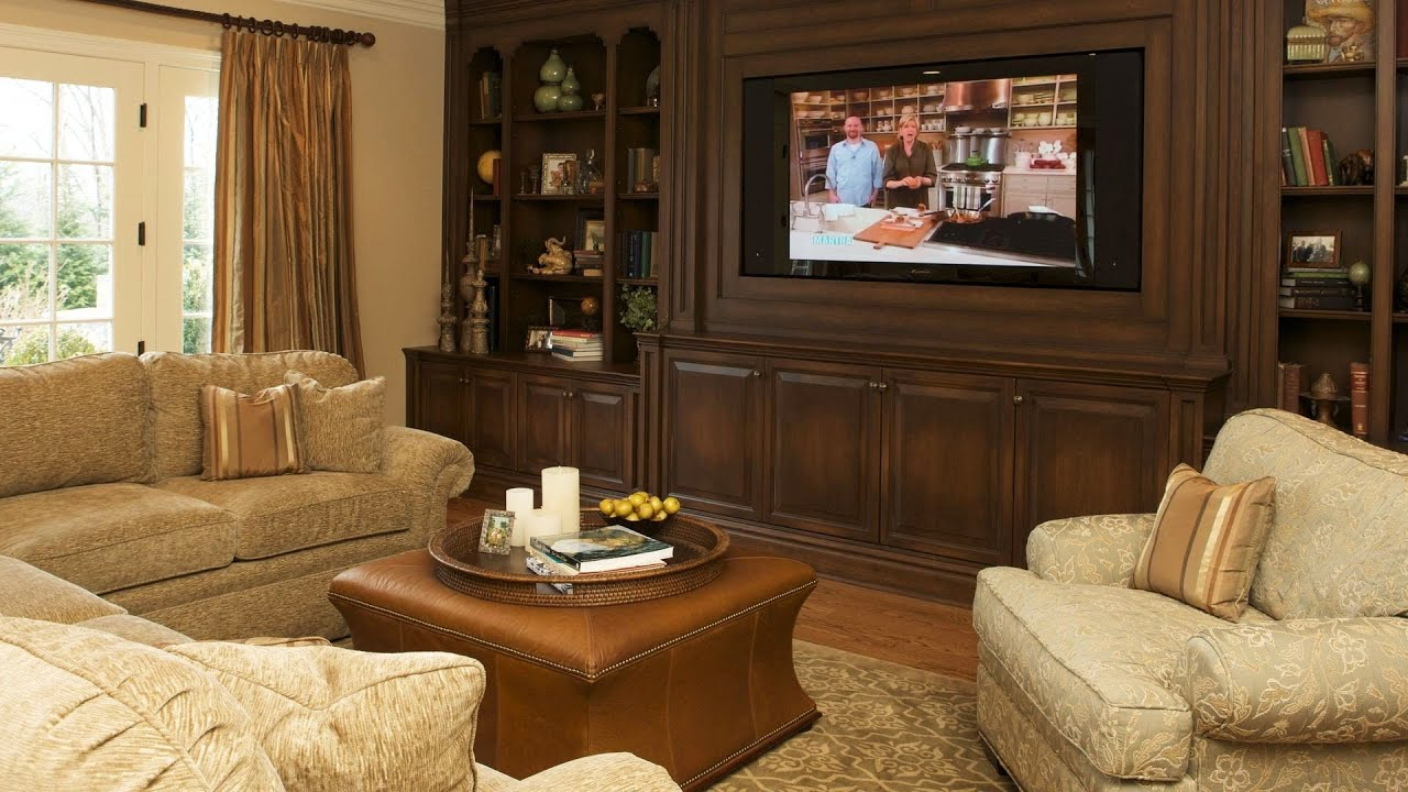 How to decorate your living room interior design youtube for Decorate my family room