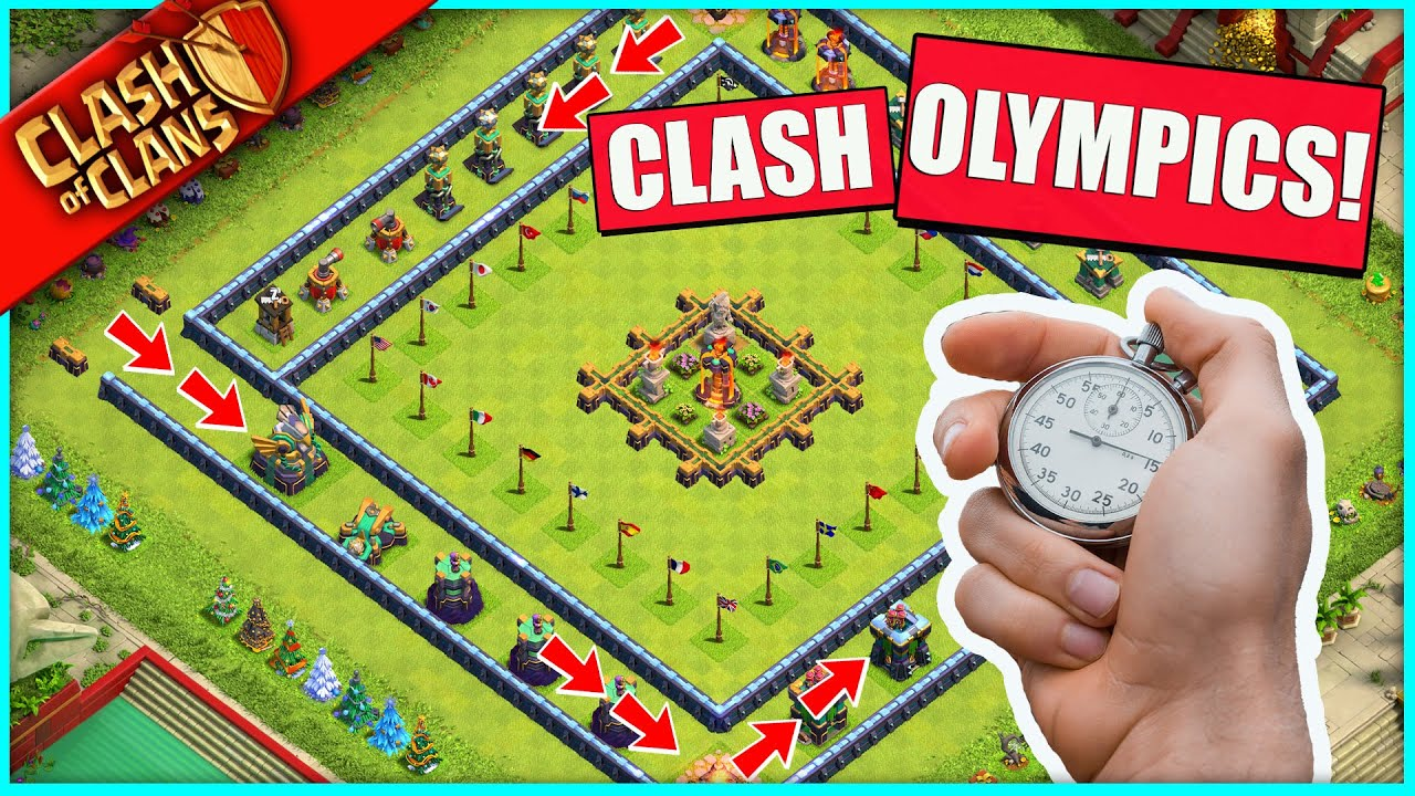 THE CLASH OF CLANS (troll) OLYMPICS 2021