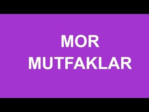 Mor Mutfak Dolabı Modelleri   İNCİR DEKOR ®