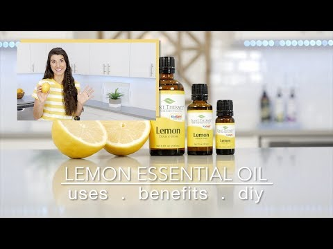 Lemon Essential Oil: Best Uses & Benefits + Quick How To