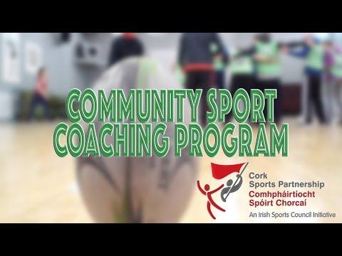 Cork Sport Partnership - Community Sport Coaching Program