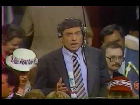 CBS and ABC News coverage from the 1980 Republican National Convention
