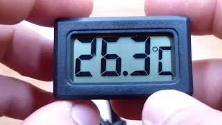 Обзор электронного термометра TPM 11 с выносным датчиком