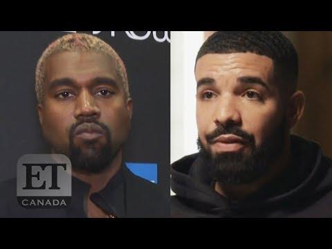 Kanye Claims Drake Threatened His Family