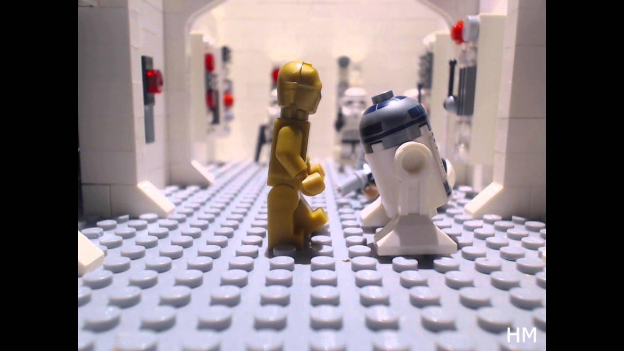 Lego Star Wars 3 antorchas misiles transparente en azul