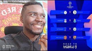Tirage Quart de final Champions league 2019!