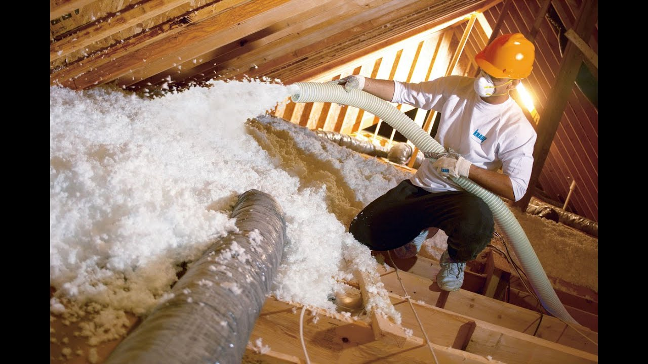Image Result For Blowing In Insulation