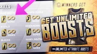 How To Unlock Unlimited Boosts In NBA 2K19!