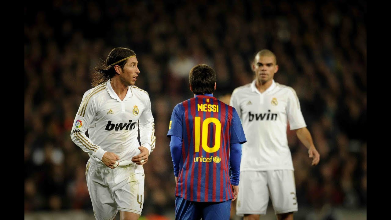 Sergio Vs. Lionel Ramos Messi YouTube -