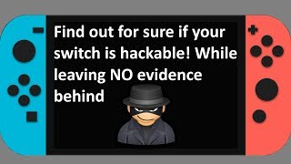 Switch Tutorial - DEFINITIVELY test if a switch is hackable with NO traces left behind
