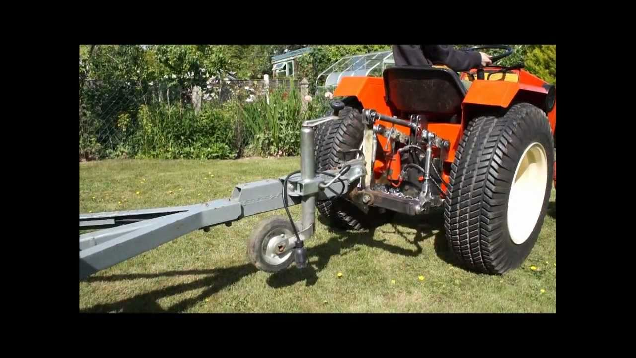 Case 444 Garden Tractor 3 Point Linkage Hitch