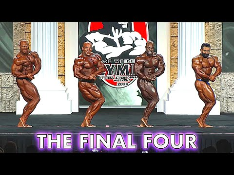 2020 Mr. Olympia Finals - Top 4 Video Analysis