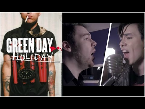 NWTB & Green Day - Holiday. Left & Right Ear.