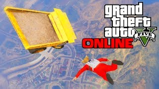 Flying Dump Truck - GTA 5 Online