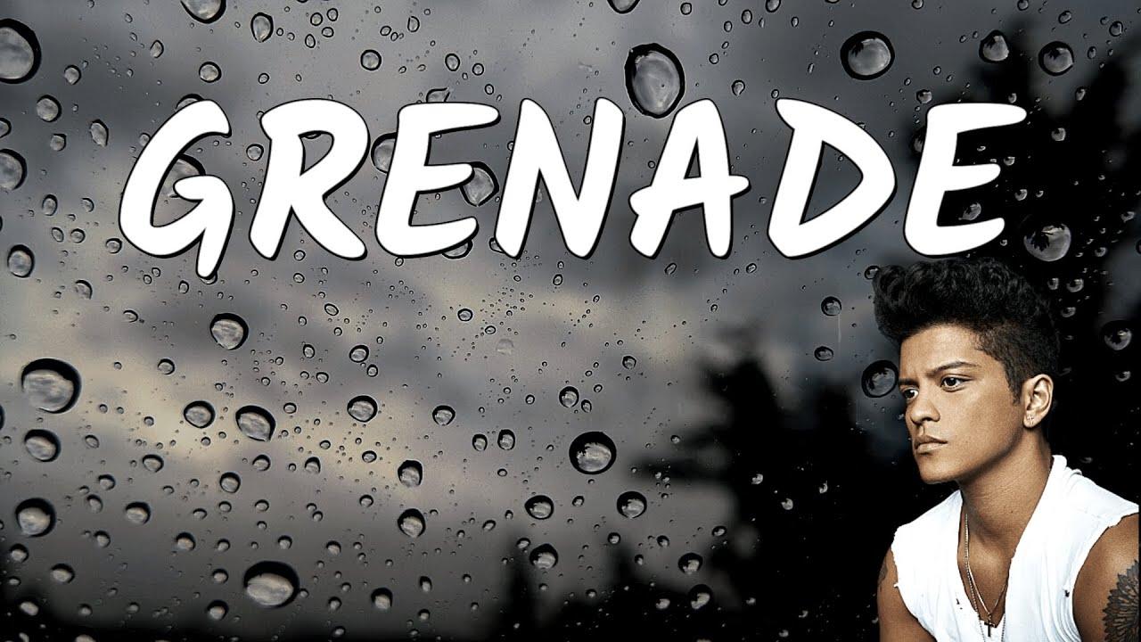 Grenade - Bruno Mars (Lyrics)