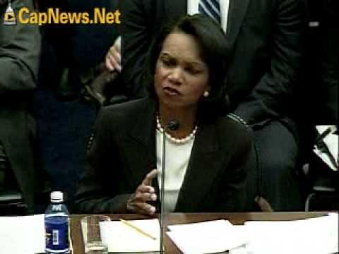 MIDEAST PEACE PROCESS: Sec Rice Testimony (Part II)