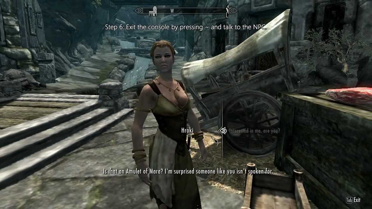 Skyrim: How to Force Marriage on Anyone (PC)